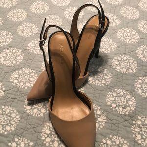 Express 2 tone heels
